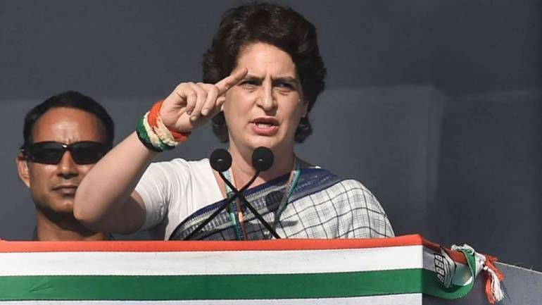 Priyanka Gandhi asks UP Congress workers to help people during lockdown in state