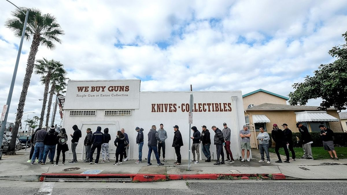 COVID-19 impact: Guess why people in USA are queueing up for buying guns!