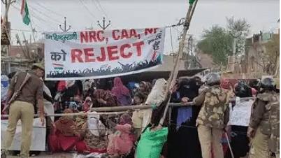 Anti-CAA protest site cleared in Aligarh