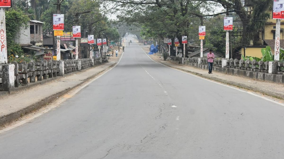 Empty roads amid Lockdown in India (Photo Courtesy: Twitter)