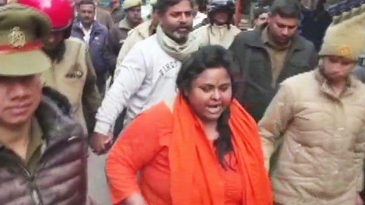 Hindu Mahasabha leader held in UP for vile remark