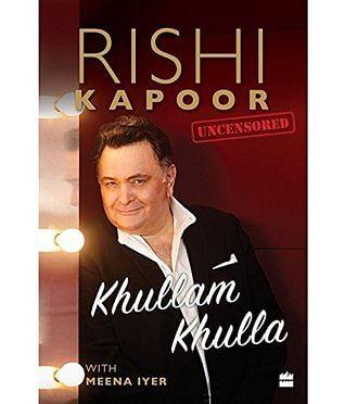Rishi Kapoor's Autobiography Khullam Khulla (Photo Courtesy: social media)