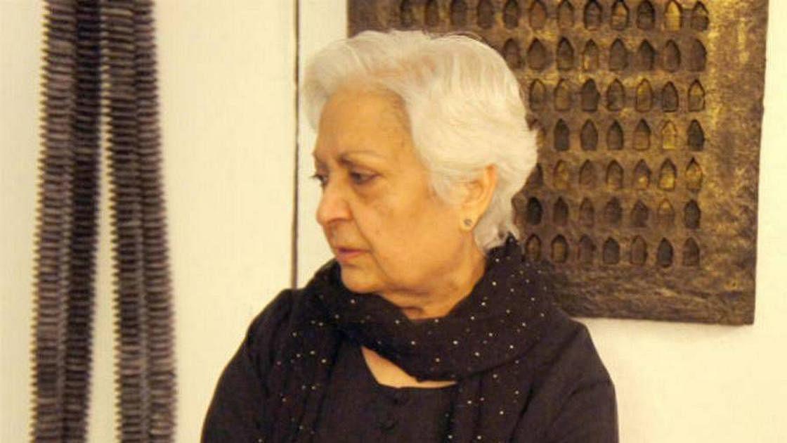 US based Indian artist Zarina Hashmi no more