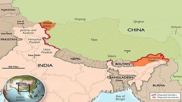 China includes Arunachal in its updated map