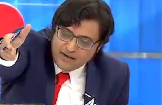 Republic TV  anchor Arnab Goswami