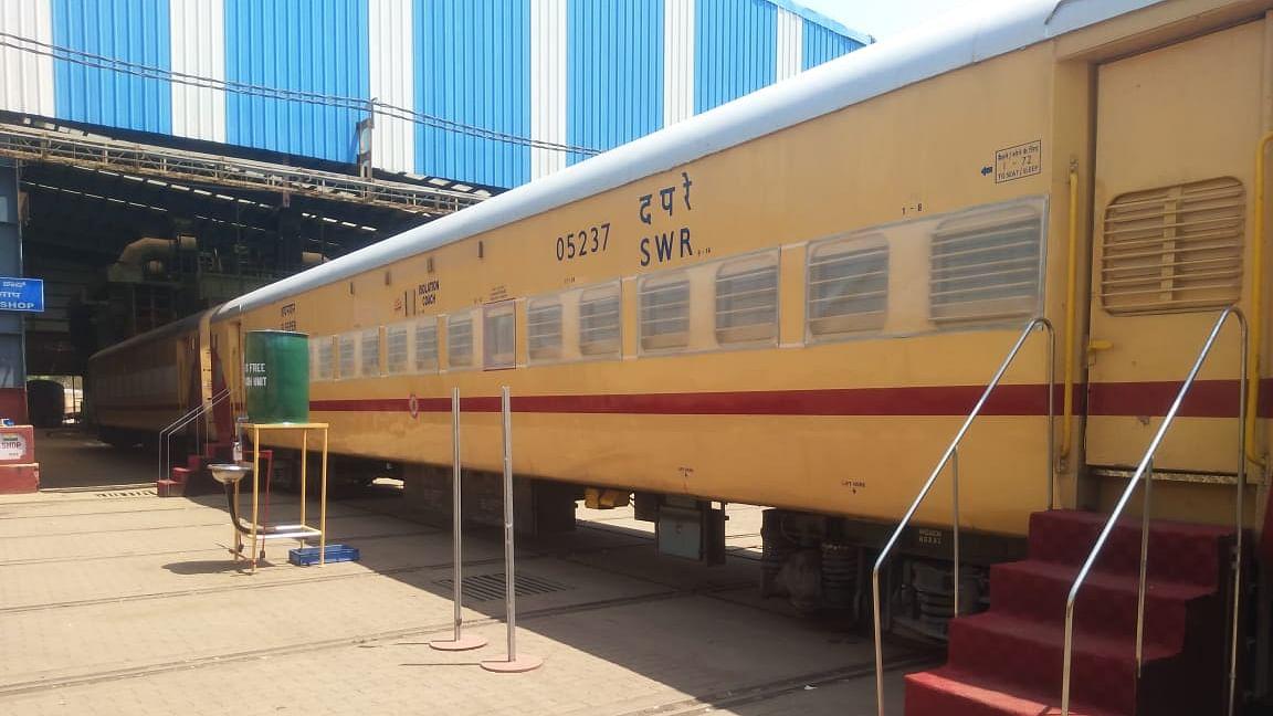 Railways convert 270 coaches into Covid wards in Karnataka