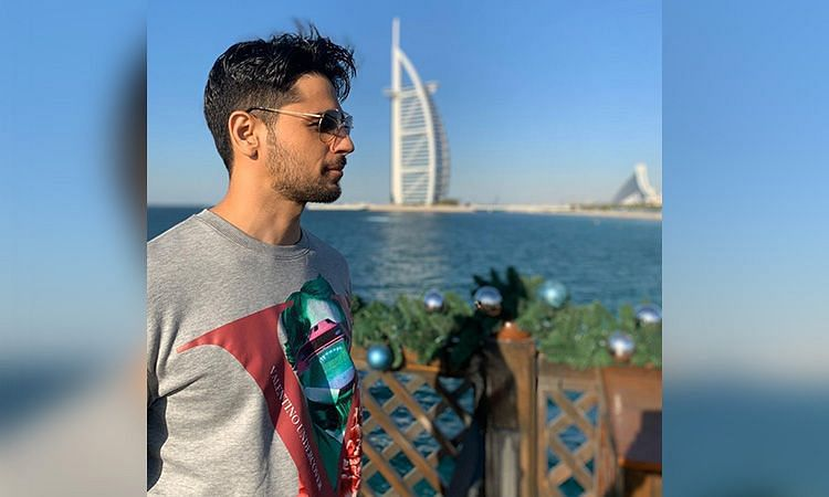 Bollywood actor Sidharth Malhotra in Dubai, 4 months ago (FILE PHOTO)