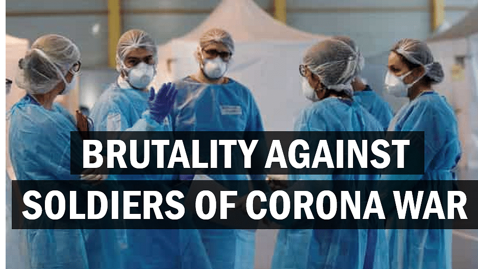 Brutality against Soldiers of Corona War