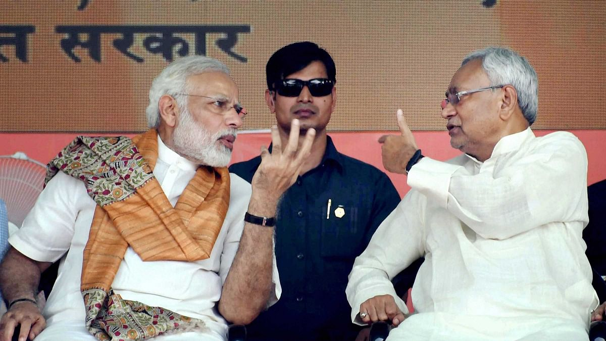 File photo of PM Modi and Bihar CM Nitish Kumar