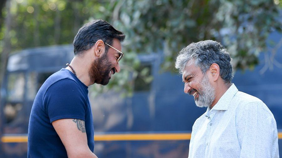 After 9 years, SS Rajamouli finally  signs Ajay Devgn for 'RRR'