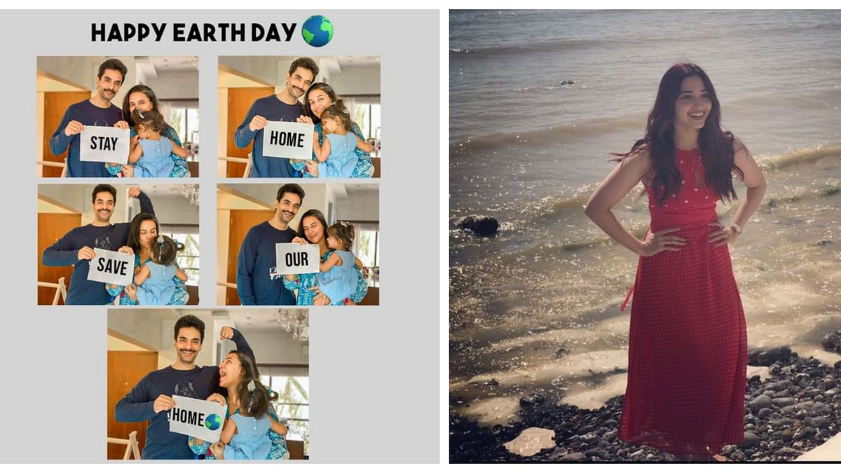 Bollywood on Earth Day: Let's keep the planet clean and green