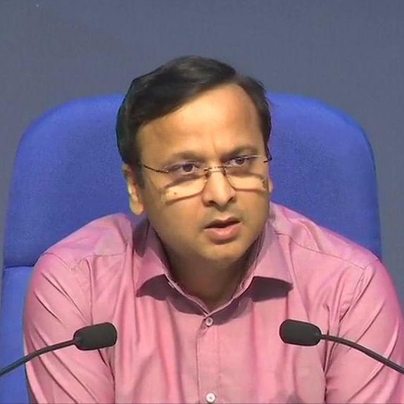 Health Ministry Joint Secretary Lav Agarwal (Photo courtesy- social media)