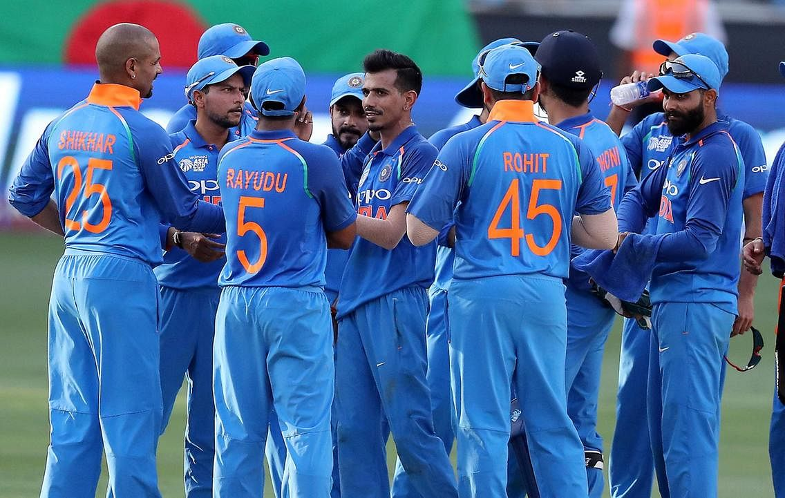 Indian cricketers in Dubai in 2018 (FILE PHOTO)