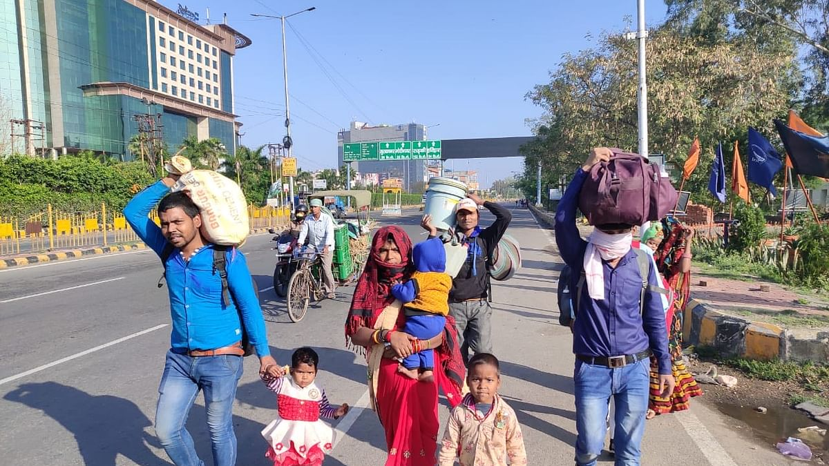 3 lakh buses & limited train services still required to send migrant workers home