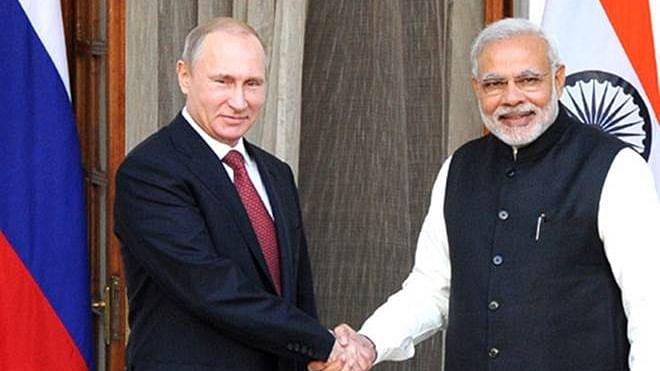 PM Modi and Russian President Vladimir Putin (Photo Courtesy: social media)