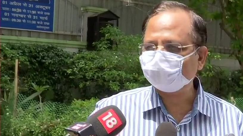 Delhi health minister admitted to hospital, tests negative for COVID-19