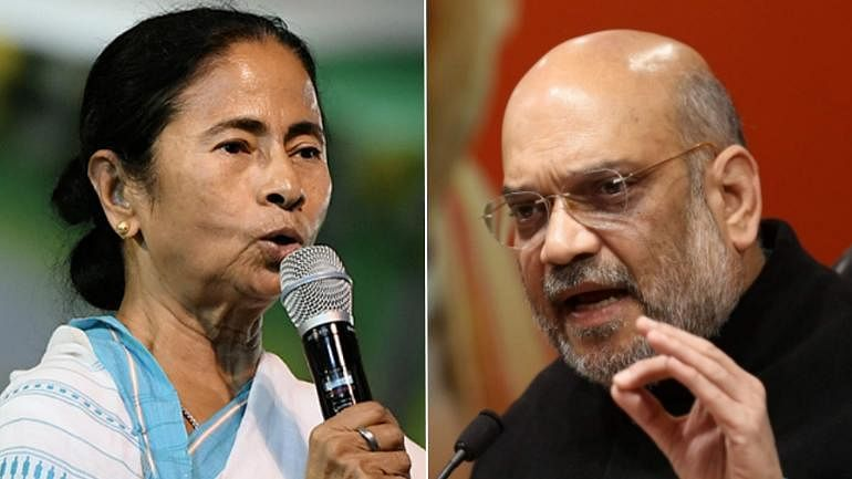 Amit Shah calls Mamata Banerjee three hours after central team lands in Kolkata