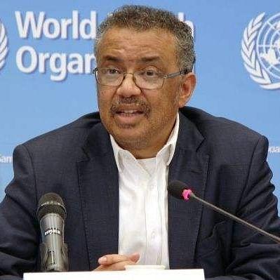 Director-General of WHO Tedros Adhanom Ghebreyesus