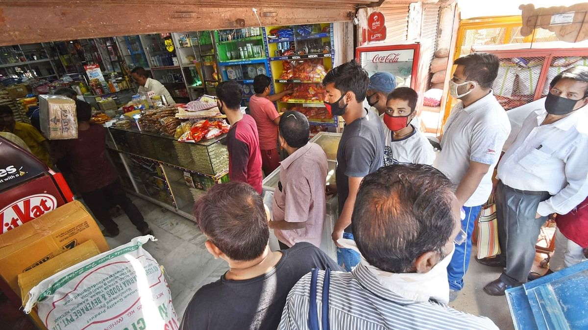 43.3% Indians stocked up to survive for more than 3 weeks