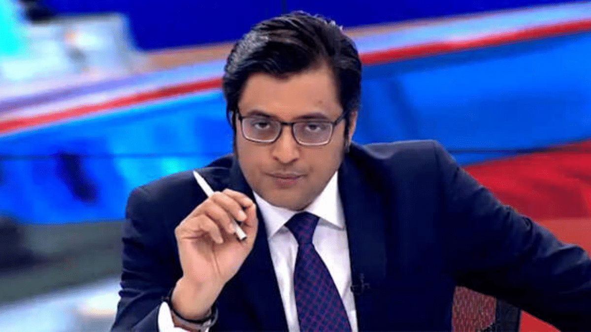 'Apologise with folded hands on TV': Shiv Sena leader to Arnab Goswami