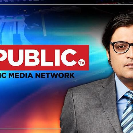 Republic TV anchor Arnab Goswami
