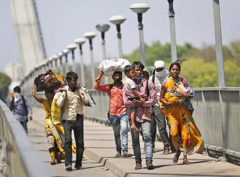 Why migrant labourers are forced to return home