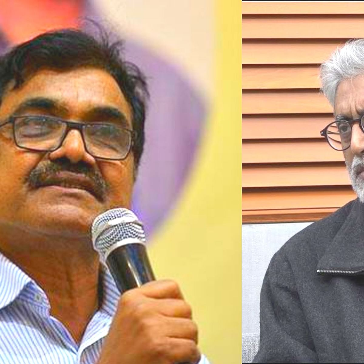 (Left) Anand Teltumbde and (Right) Gautam Navlakha (Photo courtesy- social media)