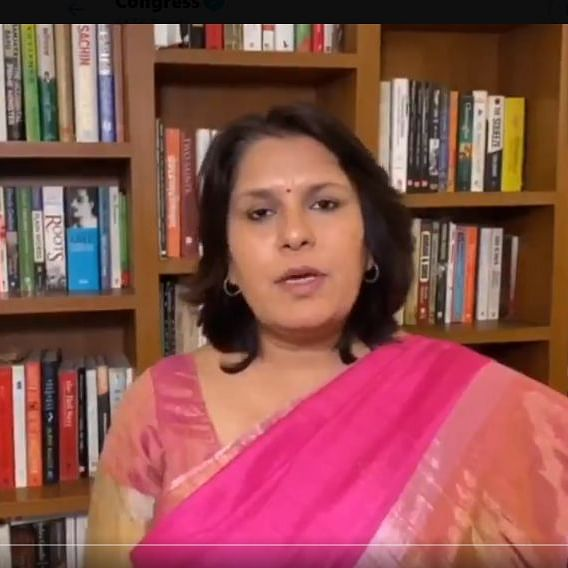 AICC spokesperson Supriya Shrinate