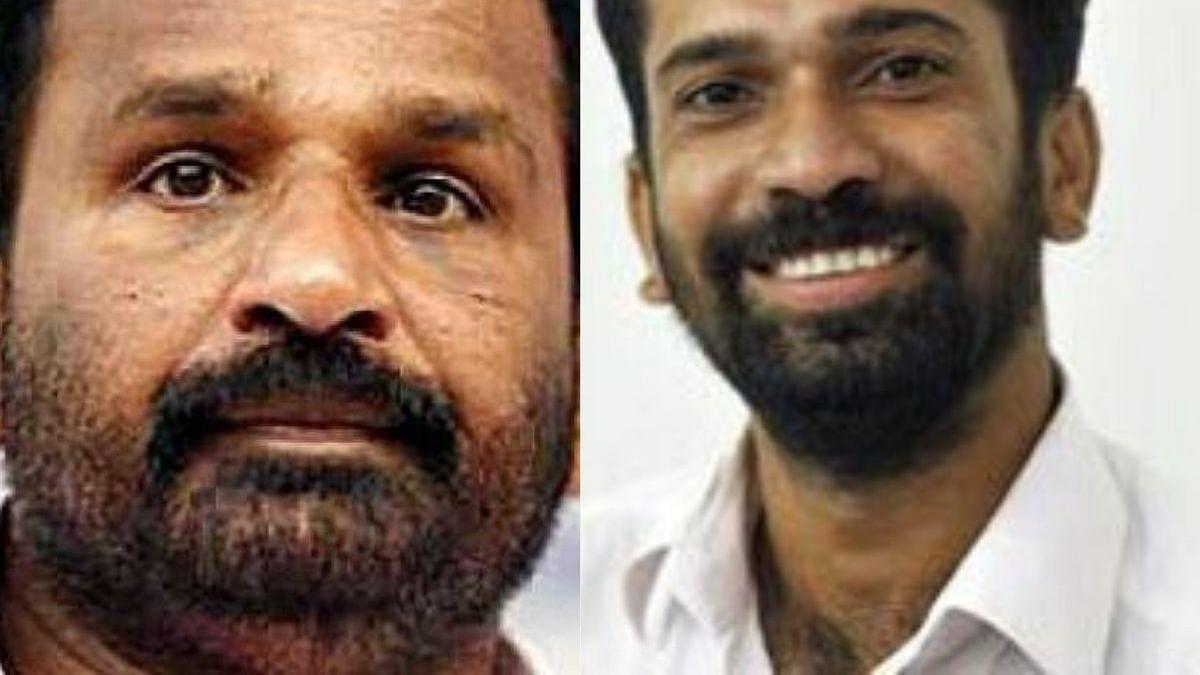 Two Congress lawmakers TN Prathapan (MP) (left) and Anil Akkara (MLA) (right) (Photo Courtesy: social media)