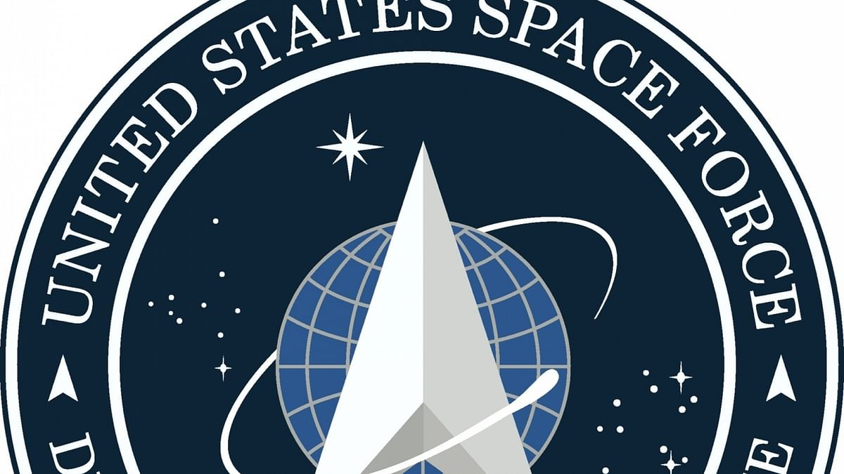 US President Donald Trump unveils flag for US Space Force