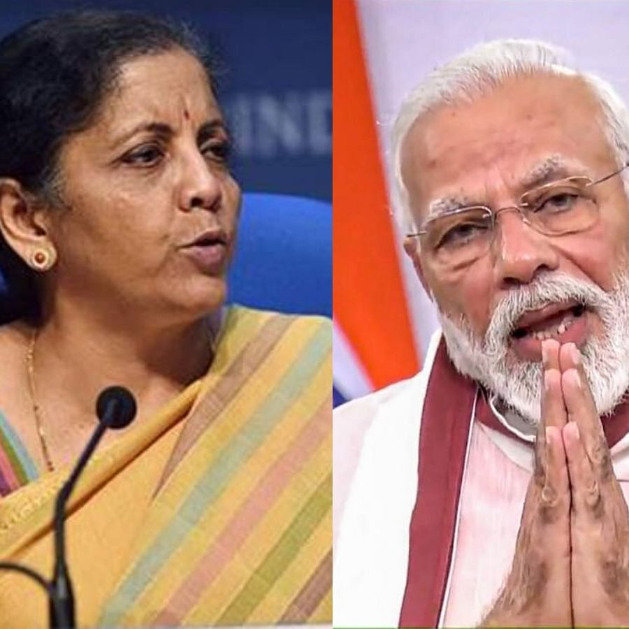 Union Finance Minister Nirmala Sitharaman and Prime Minister Narendra Modi (Photo Courtesy: social media)