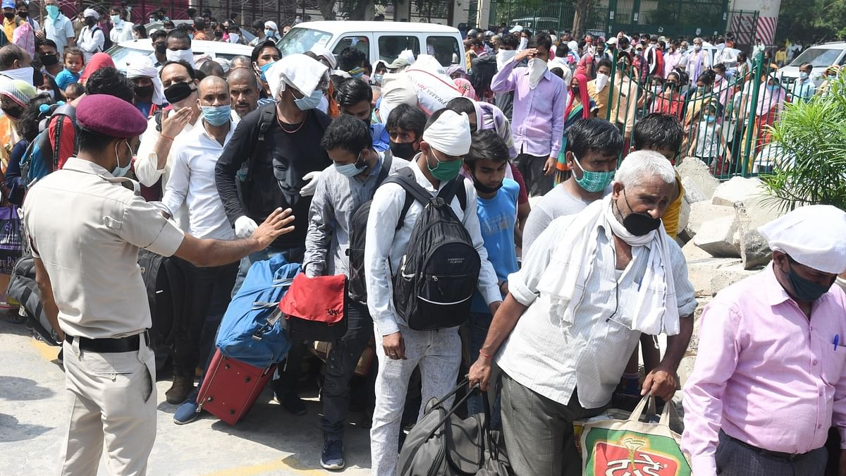 Over 8 lakh migrant workers left Delhi in first four weeks of lockdown: Report