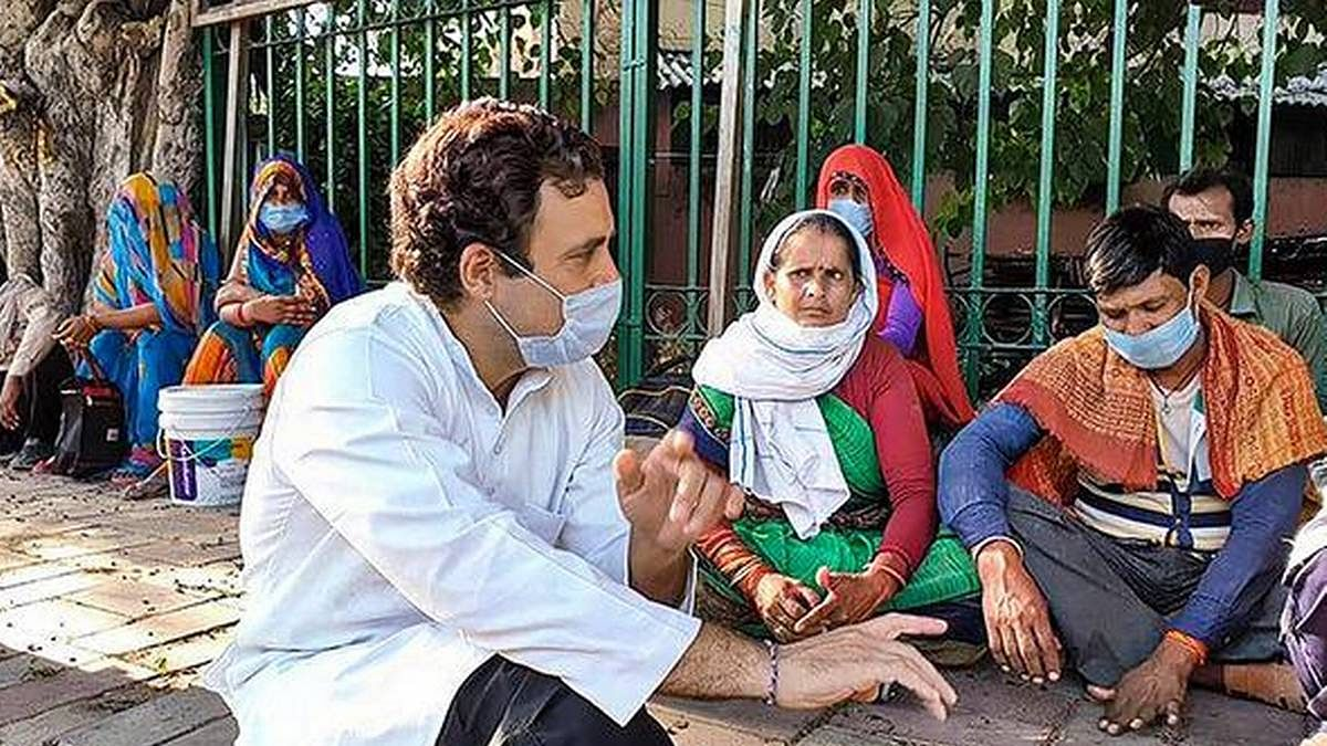 Rahul Gandhi's conversation with migrant workers in Delhi to be streamed at 9 am today