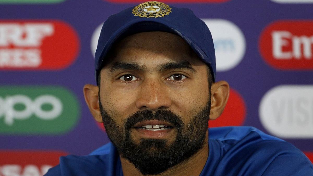 Indian cricketer Dinesh Karthik (Photo Courtesy: IANS)