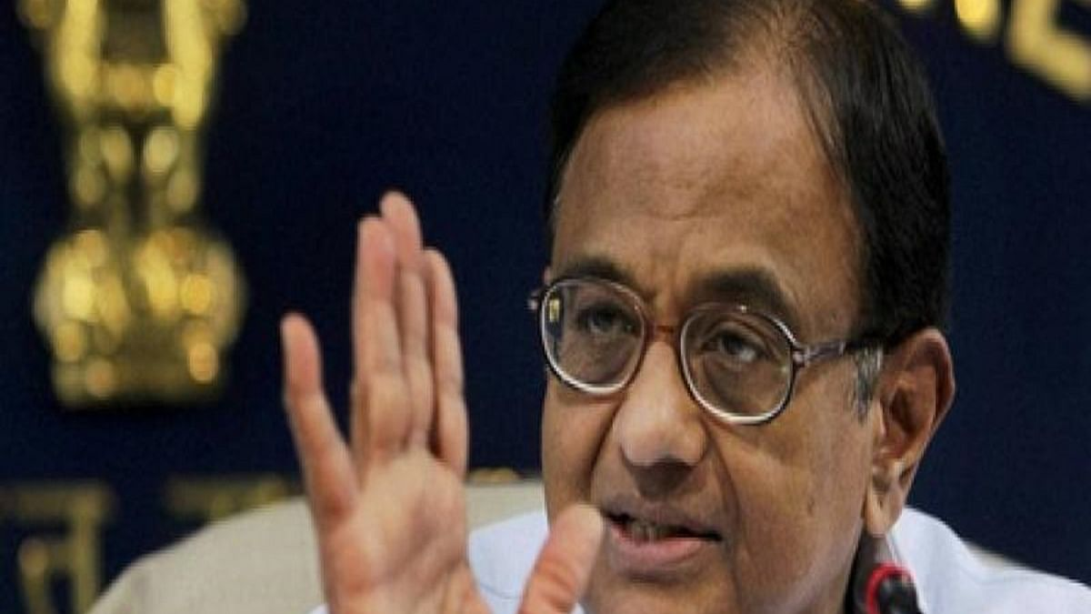 Chidambaram on negative growth: The darkest year of Indian economy in four decades