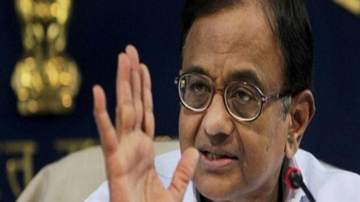 P Chidambaram slams govt, asks why RBI is infusing liquidity