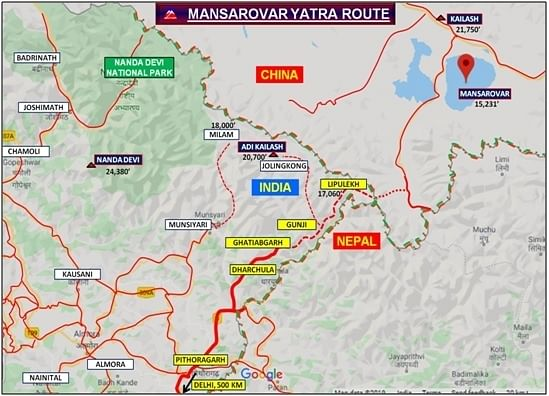 Now, you can drive to Kailash Mansarovar from Delhi