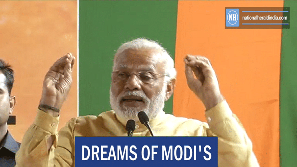 """Dreams of Modi's """"good days"""" shattered"""
