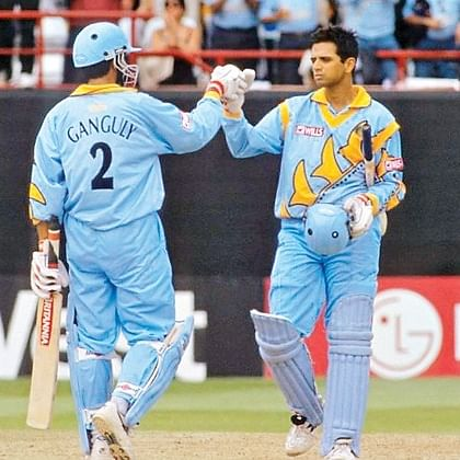 This day, that year: When Sourav Ganguly, Rahul Dravid scripted ODI history