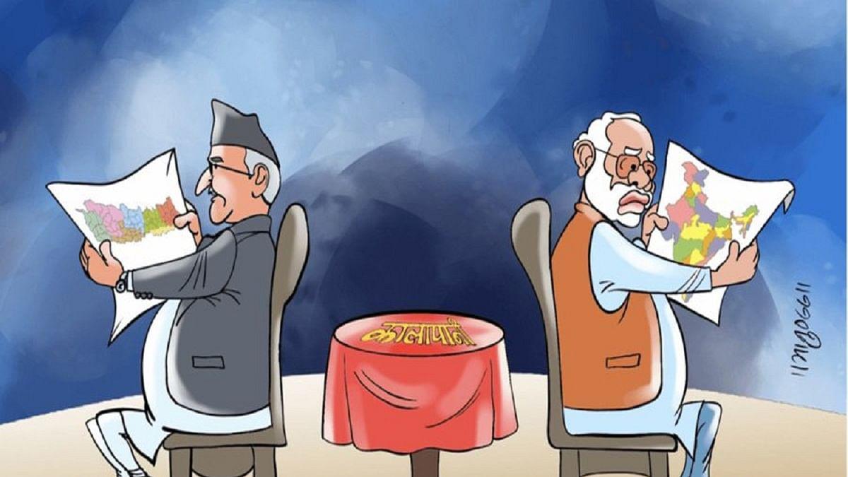 Illustration by Bhanu Bhattarai (Photo Courtesy: Twitter)
