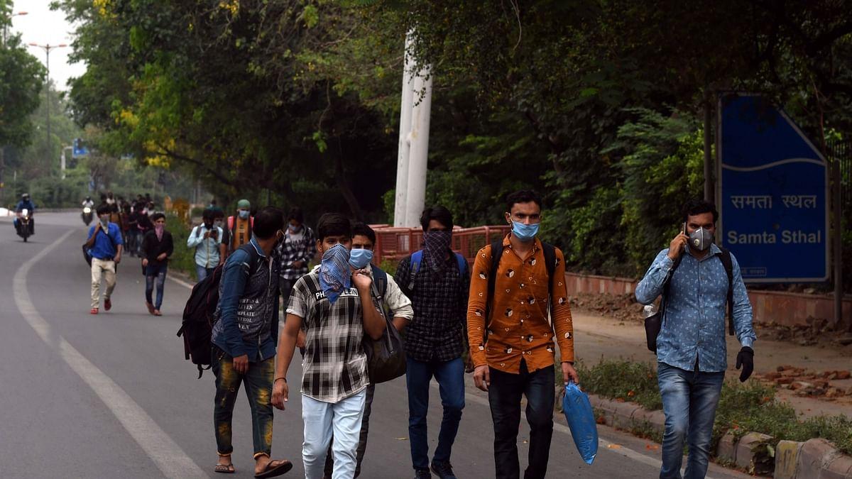 'Ek chappal de do sahib,' plead migrants as their feet bleed