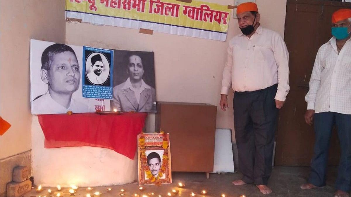 Madhya Pradesh: Hindu Mahasabha observes Godse's birth anniversary again; Congress fumes