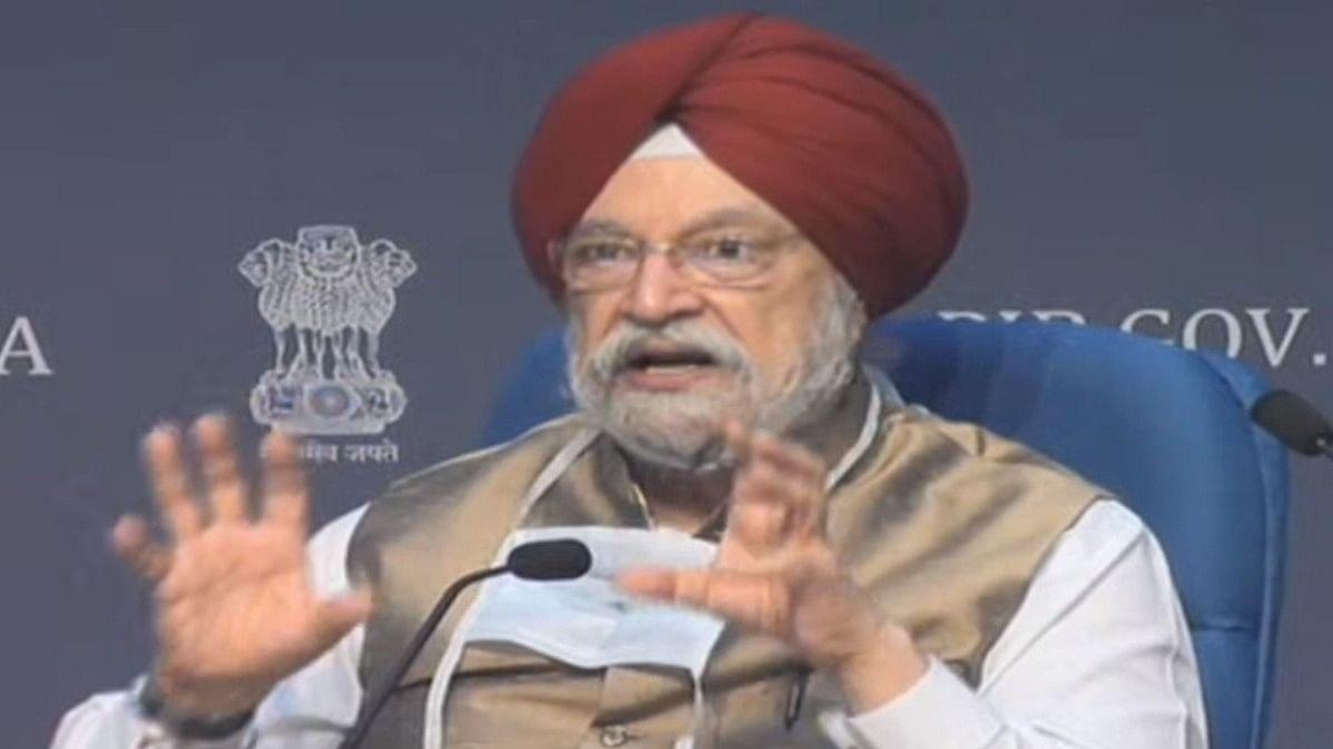 Union Housing and Urban Affairs Minister Hardeep Singh Puri