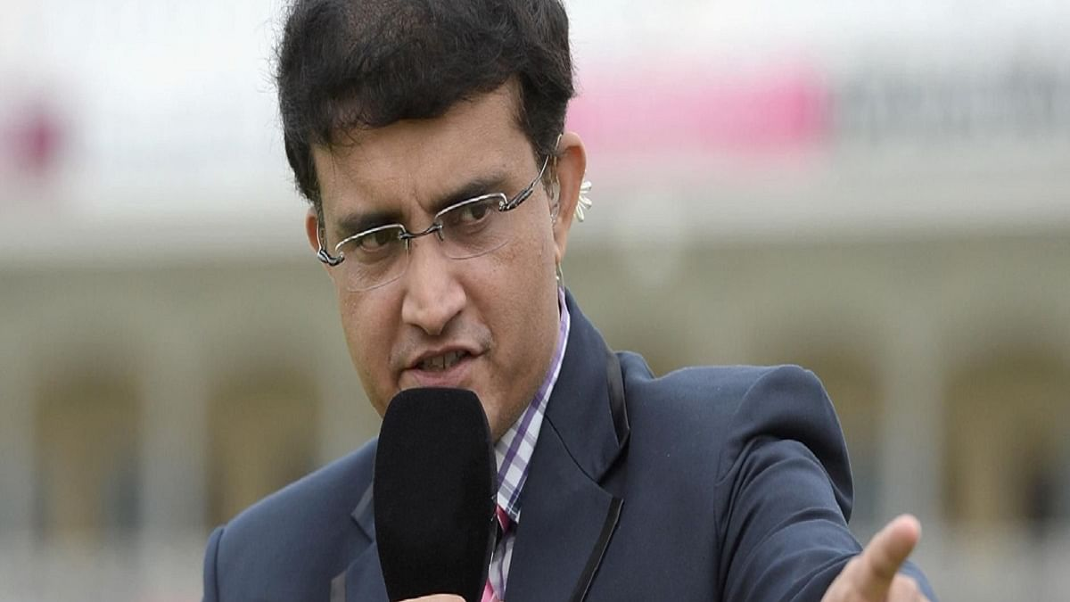 BCCI president Sourav Ganguly (Photo Courtesy: social media)