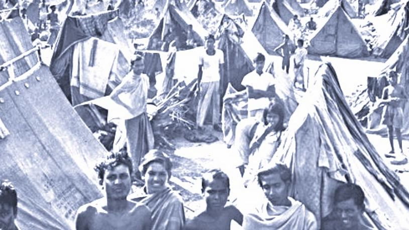 In 1971, India hosted 10 million refugees from Bangladesh