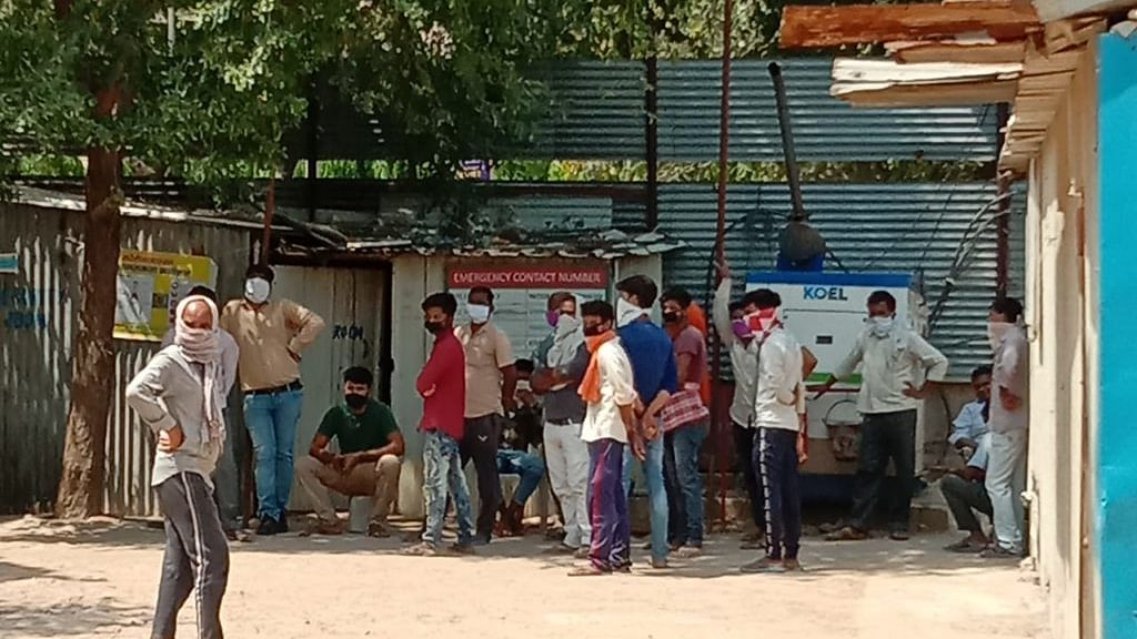 Stranded in Delhi for last 50 days, over 250 poor construction workers appeal for help