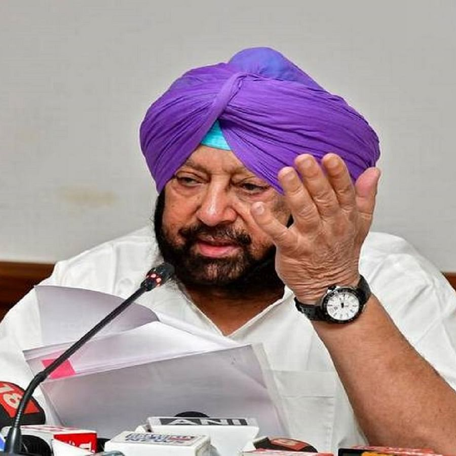Punjab Chief Minister Capt Amarinder Singh (File Photo)