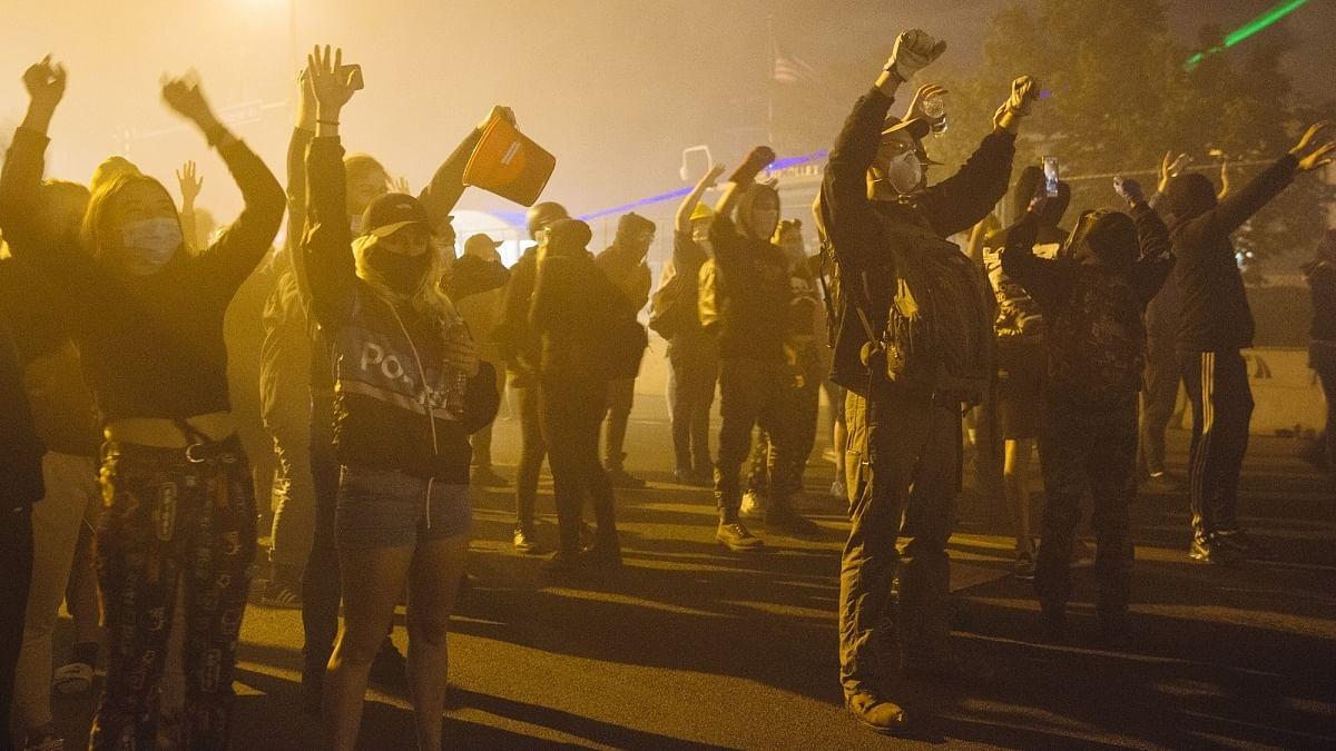 Over 530 arrested after protests over death of George Floyd turn violent