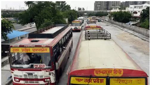 UP buses to operate in green zones