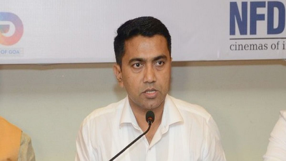 Goa Chief Minister Pramod Sawant (Photo Courtesy: IANS)